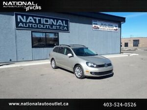 2012 Volkswagen Golf Wagon Comfortline -NAVIGATION - MOON ROOF-