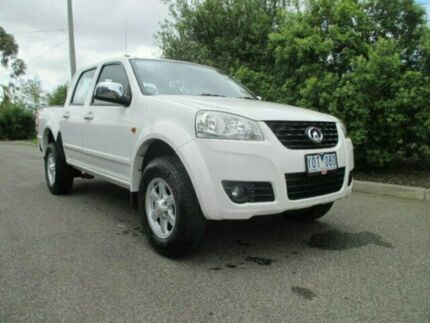 2011 Great Wall V240 K2 Super Luxury White 5 Speed Manual Utility Hoppers Crossing Wyndham Area Preview