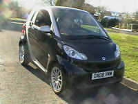 08 REG SMART FORTWO 1.0 ( 71bhp ) PASSION AUTOMATIC 3 DOOR HATCHBACK IN SILVER