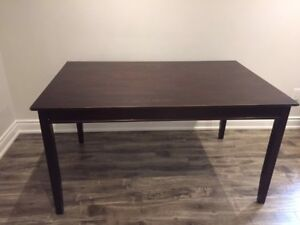 Large black Dining room table (or multipurpose)