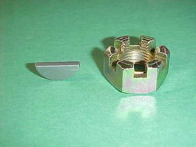 New Crankshaft Nut Key Maytag Single Cylinder Model 92 Gas Engine Castle Slotted