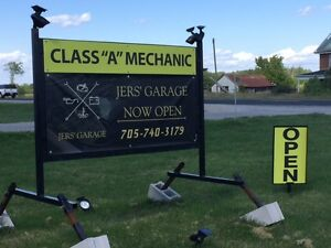 JERS' GARAGE 8026 Hwy.#7 South of Fowlers Corners 705-740-3179 Peterborough Peterborough Area image 8