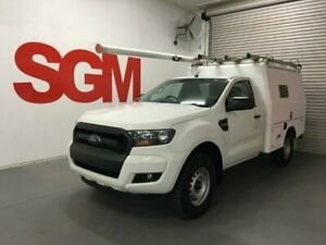 Ford Ranger PX Mk II 2016 Turbo Diesel 4x4  - Fitted with XL service body (ex-Telstra fitout) Seven Hills Blacktown Area Preview