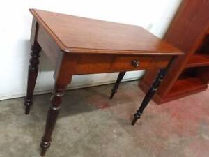 F38015 Vintage Cedar Hall Table Desk Console with Drawer Mount Barker Mount Barker Area Preview