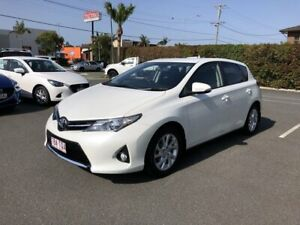 2013 Toyota Corolla ZRE182R Levin SX White 6 Speed Manual Hatchback Carseldine Brisbane North East Preview