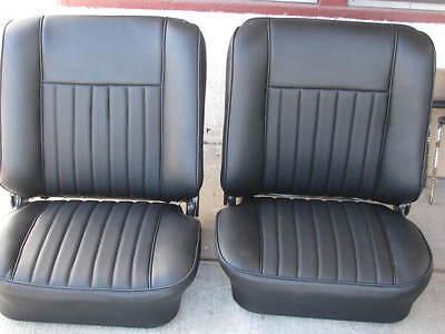 Upholstery Vinyl Kit - BMW E10 2002 2002tii BLACK GERMAN VINYL STANDARD KIT EARLY MODEL UPHOLSTERY NEW
