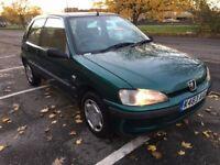 Peugeot 106 1.1 Zest 2 genuine low mileage 53,000 miles cheap small car
