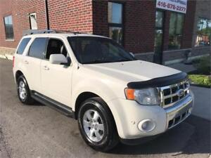 Sporty & Sharp 2011 Ford Escape Limited, Sold Certified