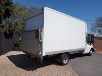 FULLY INSURED REMOVALS IN DERBY **PROFESSIONAL MAN AND VAN HIRE**100% RELIABLE**