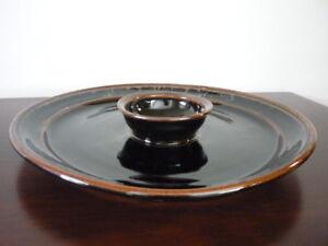 Large Donn Zver Pottery Platter