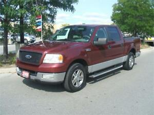 2005 Ford F-150 XLT / SUPER CREW / 2WD
