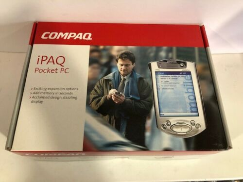 Compaq iPAQ Model H3835 Color Pocket PC sealed in Original Box unused NEW LOOK