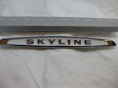 Nissan/Datsun Hakosuka Skyline Emblem Trunk Ornament KPGC10 C10 GTR GT-R Genuine