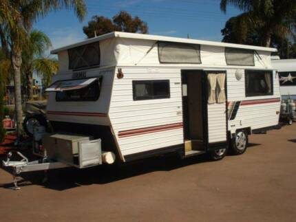 COROMAL 17' POP TOP CARAVAN Bellevue Swan Area Preview