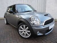 Mini Cooper S, Stunning in Metallic Grey, with Leather Trim, Low Miles, Excellent Condition Car