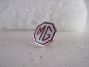 MG cloisonne    logo lapel pin     (2x06)