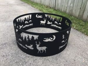 "36"" Steel Firepit Ring"