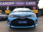 2016 Toyota Yaris NCP131R MY15 ZR Blue 4 Speed Automatic Hatchback Cardiff Lake Macquarie Area Preview