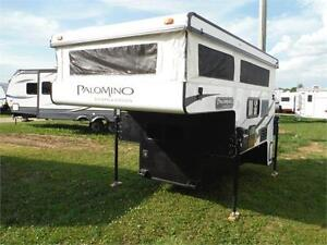 2015 Palomino Backpack SS1251 Pop up Truck Camper with Bathroom
