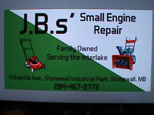 WE CAN FIX YOUR SNOWBLOWER