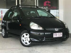 2007 Honda Jazz GD GLi Black/Grey 5 Speed Manual Hatchback