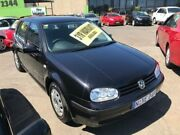 2002 Volkswagen Golf 4TH GEN GL Black 4 Speed Automatic Hatchback Lidcombe Auburn Area Preview