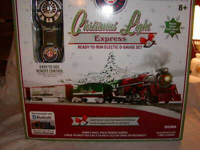 Lionel 2023080 Christmas Light Express Train Set O 027 LC MIB New Bluetooth 2020