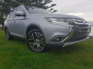 2016 Mitsubishi Outlander ZK MY16 LS 4WD Sterling Silver 6 Speed Constant Variable Wagon South Burnie Burnie Area Preview
