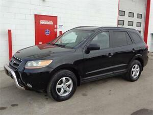2008 Hyundai Santa Fe V6 AWD ~ Heated leather ~ 159,000km~ $9999