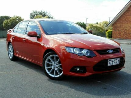 2013 Ford Falcon FG MkII XR6 Orange 6 Speed Sports Automatic Sedan Chermside Brisbane North East Preview
