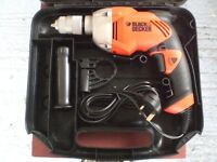 Black & Decker Mains Power Drill