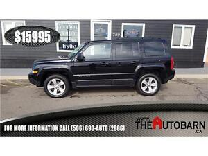 2013 JEEP PATRIOT NORTH - cruise, bluetooth, heated seats.
