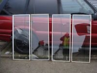 GLASS PANELS FOR GREENHOUSE OR COLD FRAME,, 11 PANELS LEFT