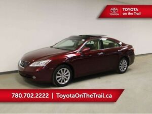 2007 Lexus ES 350 LOW KM, NAV, LEATHER, HEATED/COOLED SEATS, SMA