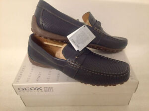 Authentic GEOX Moccasins, new in box