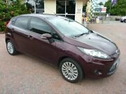 2010 Ford Fiesta WS LX Maroon 5 Speed Manual Hatchback Townsville Townsville City Preview