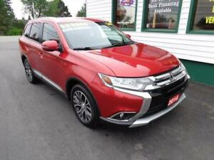 2016 Mitsubishi Outlander SE V6 AWD for only $202 bi-weekly!