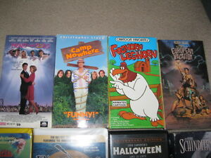 MANY  VHS  MOVIES  -  EXCELLENT  CONDITION!