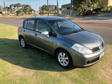 2006 Nissan Tiida C11 ST-L Silver 6 Speed Manual Hatchback Wangara Wanneroo Area Preview