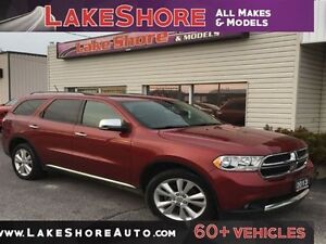 2013 Dodge Durango Crew Plus LOADED LOCAL TRADE