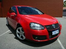 2008 Volkswagen Golf V GTi 147 TSI Turbo Red 6 Speed Automatic Hatchback Willagee Melville Area Preview