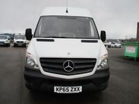 Mercedes-Benz Sprinter 313 MWB H/R EURO 5 DIESEL MANUAL WHITE (2015)