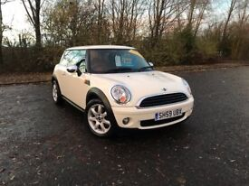 2009 MINI FIRST 1.4 WHITE PETROL 85,000 MILES MOT OCT 18 GREAT CAR MUST SEE £2995 OLDMELDRUM