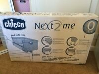Chicco next2me side sleeping crib RRP £170