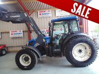 New Holland T4050 4WD, 2008, c/w Quicke Q30 loader - Choice of 3