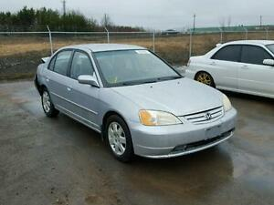 parting out 2002 honda civic
