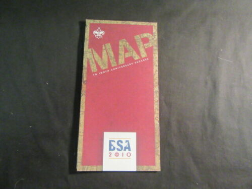 BSA 100th Anniversary Map to Success Foldout & Poster     H1