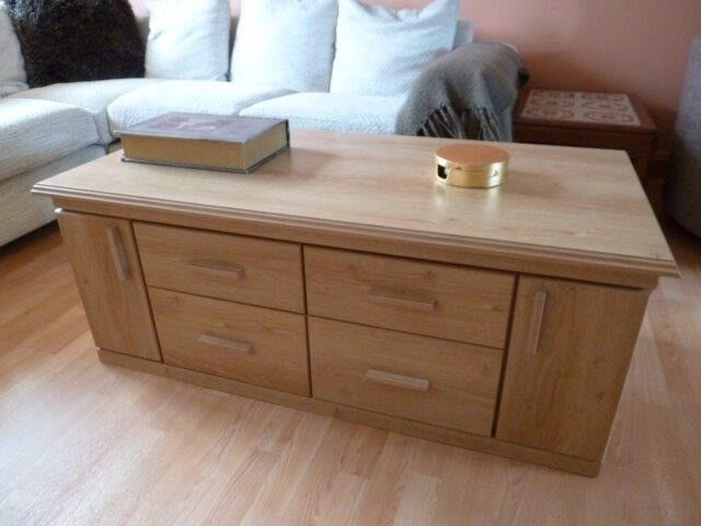 Coffee Table and Media Unit