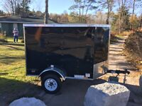 2016 CONTINENTAL CARGO ENCLOSED 4X6 BRAND NEW!!!