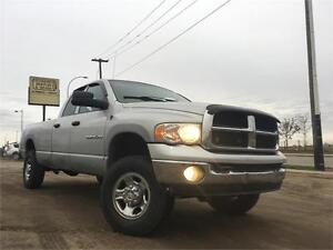 2004 Dodge Ram 2500 SLT 4X4 HEMI = CREW CAB LONG BOX = NEW PARTS Edmonton Edmonton Area image 3